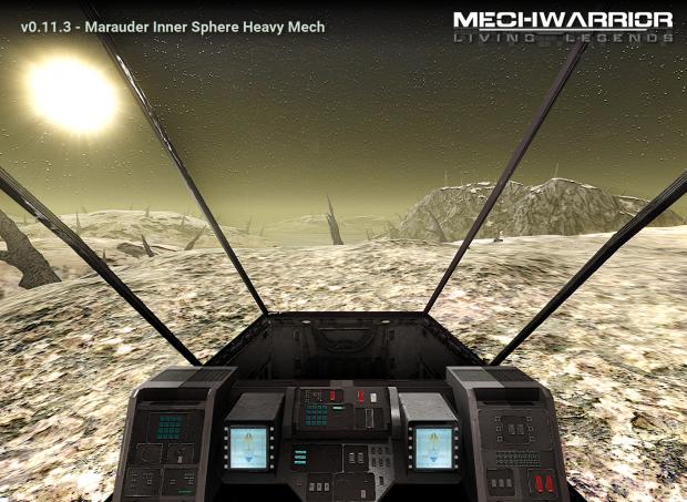 Inner Sphere Marauder 75-ton Heavy Mech (Media)