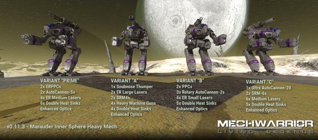 Marauder Lineup