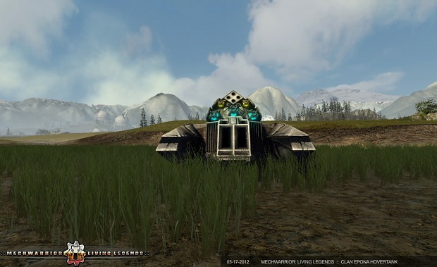 Clan Epona 50-ton Hovertank