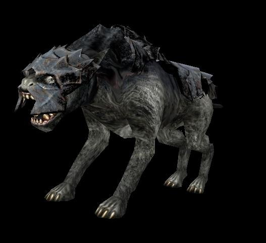 Warg Hero With Stolen Troll Armor Image