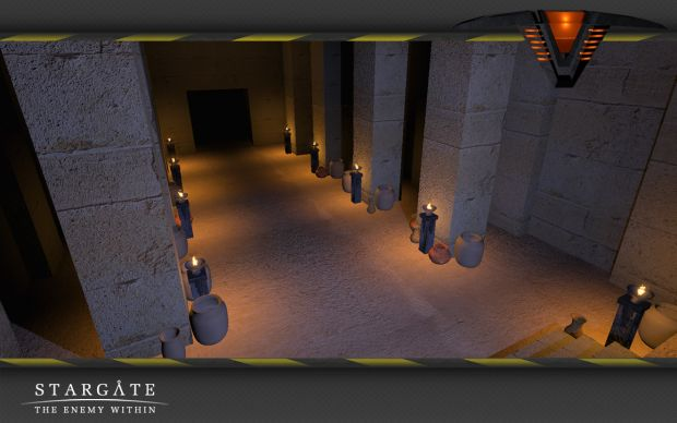Wip Abydos Pyramid Interiors Image Stargate The Enemy