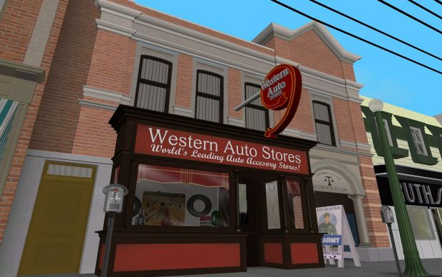 Grand Valley Auto >> 1955 Western Auto's - In Game - Day image - Back to the Future: Hill Valley mod for Grand Theft ...
