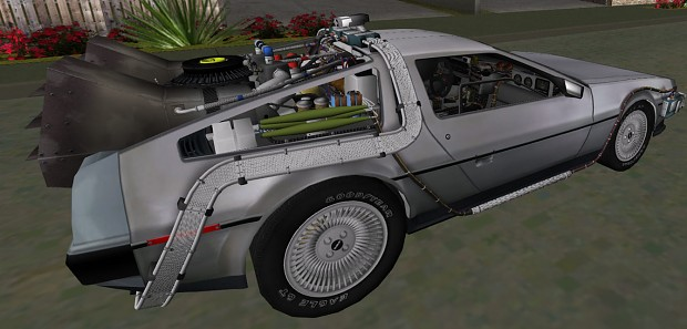 New DeLorean Stainless Textures