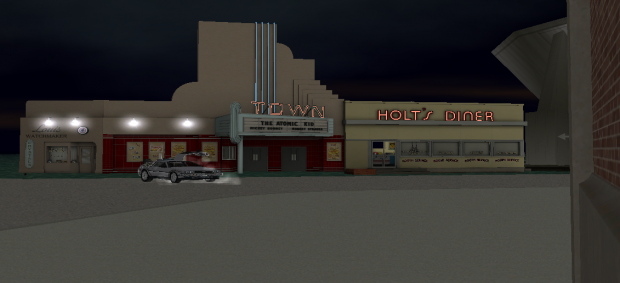 Town building in game