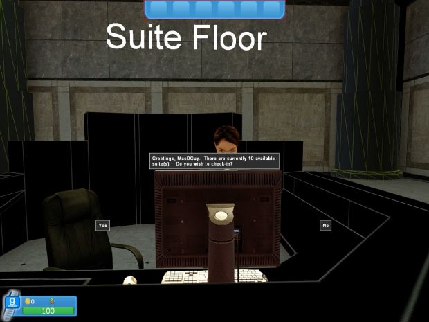 Gmod tower in game screenshot