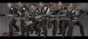 New Male Rebel Skins for JB!