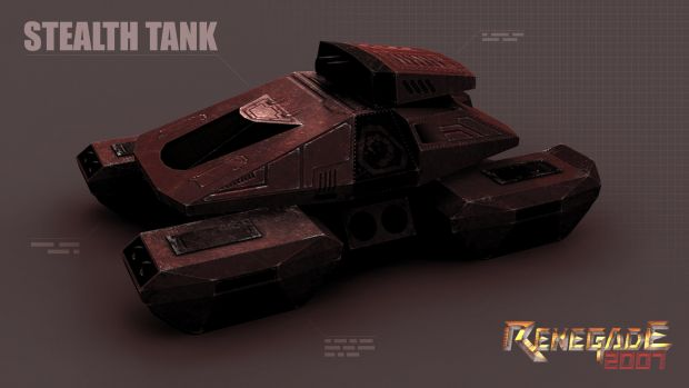 Nod Stealth Tank Render