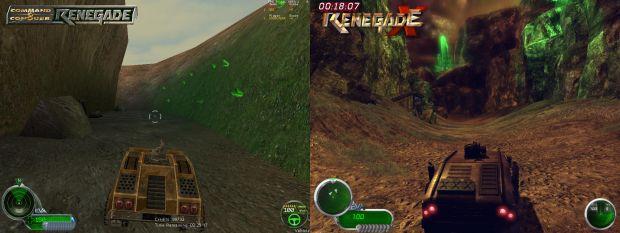 Hourglass Comparison image - Renegade X (UT3) mod for Unreal