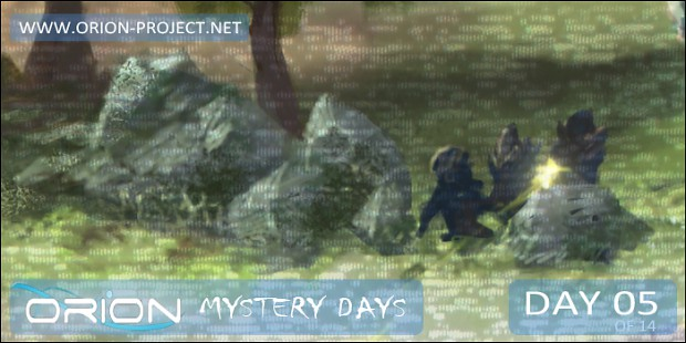 ORION - Mystery Days Event - Day 05