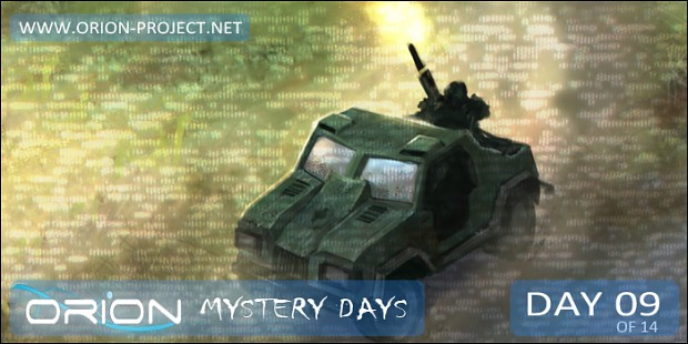 ORION - Mystery Days Event - Day 09