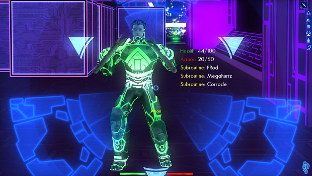 TRON 2.0 Killer App Mod Derez Rod Primitive