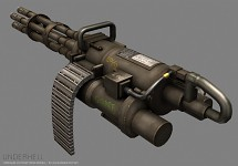 New Minigun by Alexander Voysey