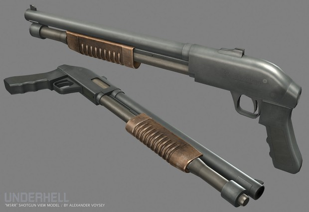 New M590 Shotgun by Alexander Voysey