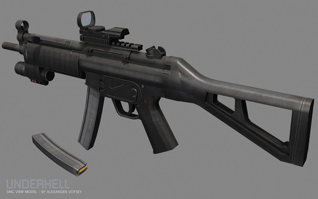 New MP5 by Alexander Voysey