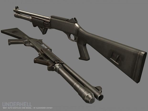 New Benelli M4 by Alexander Voysey