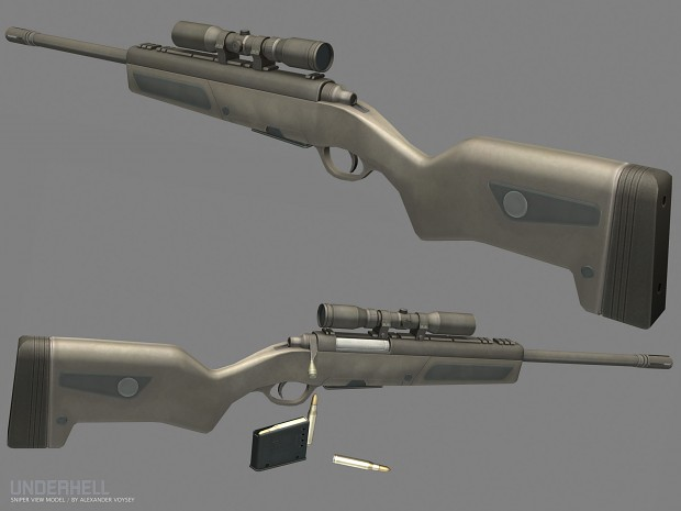 New Sniper Rifle by Alexander Voysey