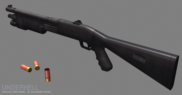 New M3 Shotgun by Alexander Voysey