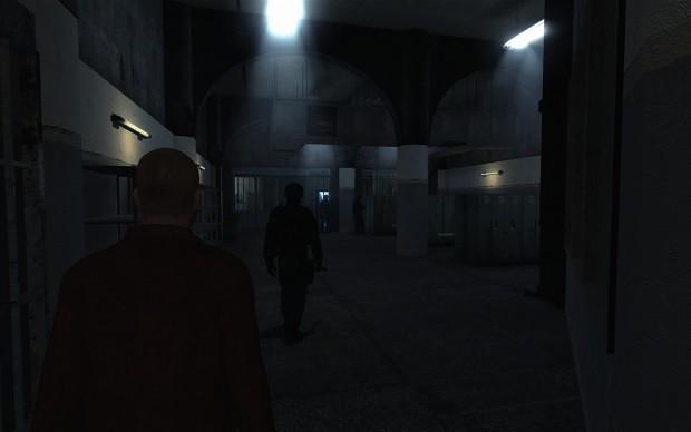 Inmate Lockers Room