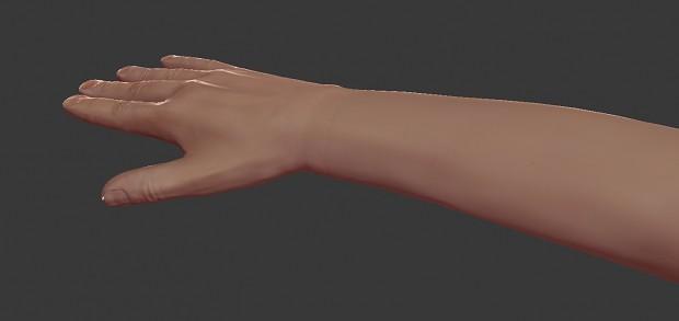 New hands model