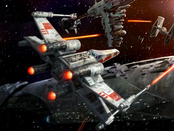Star Wars game for Windows 7 wing Alliance