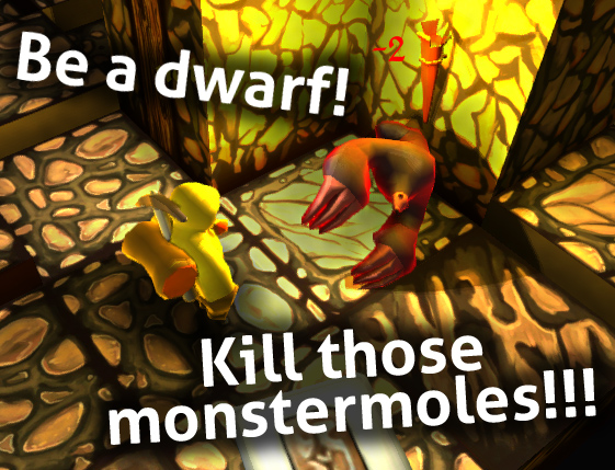 Killl those monstermoles!
