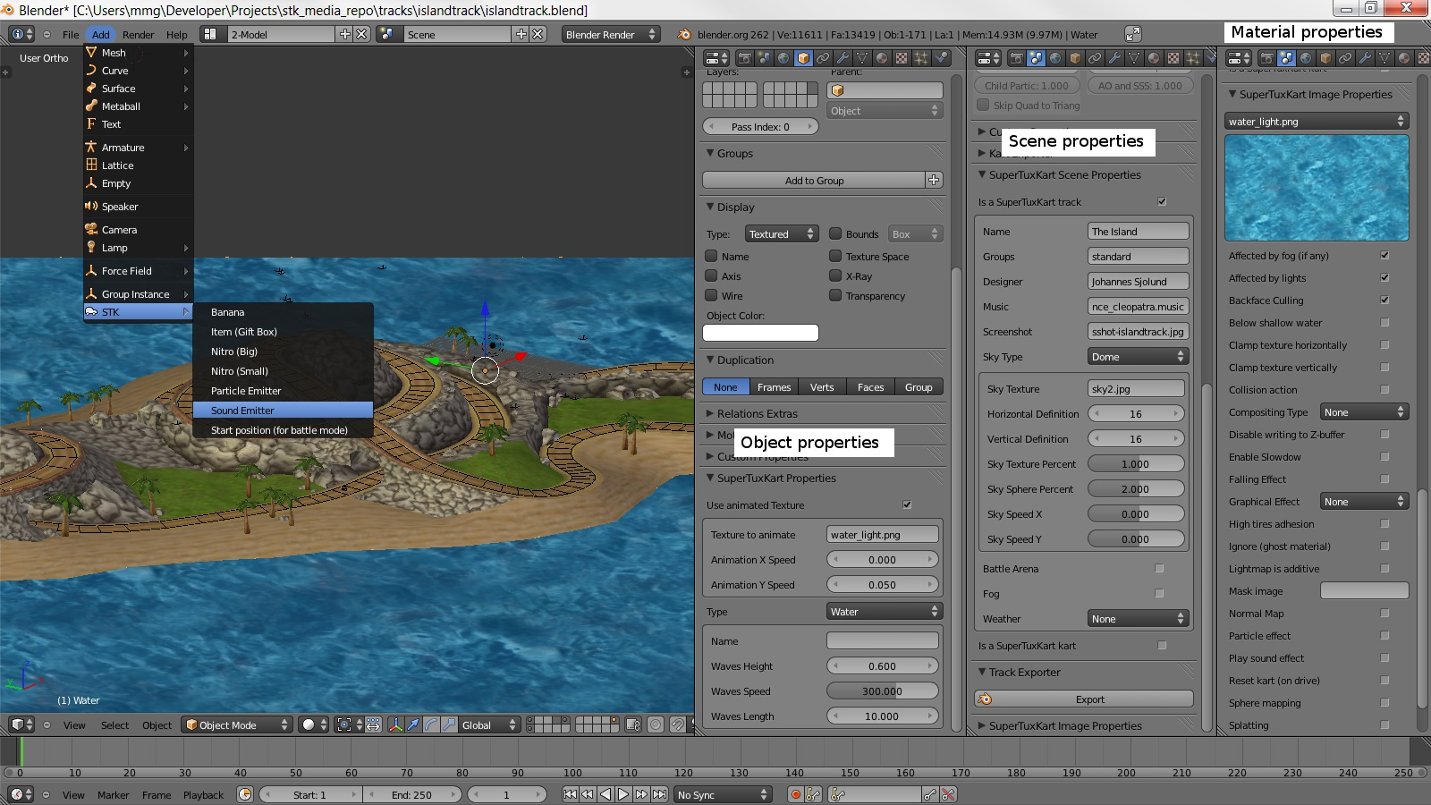 Using blender 3d as a 3d map editor rather than 3d editor