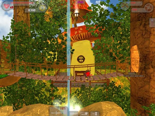 World 2 Level 4: Mushroom Land