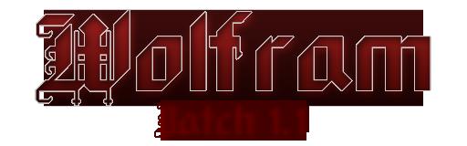 Wolfram Patch 1.1 Logo