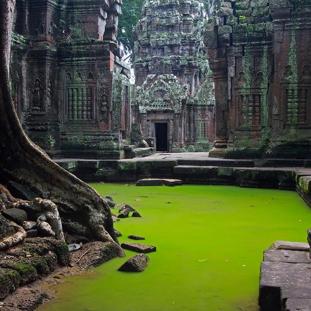 Cambodian Ruins