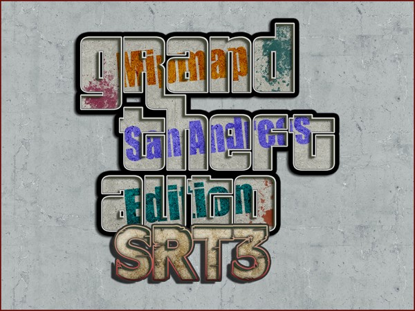 SRt3 Mipmap 2014 mod for Grand Theft Auto: San Andreas - Mod DB