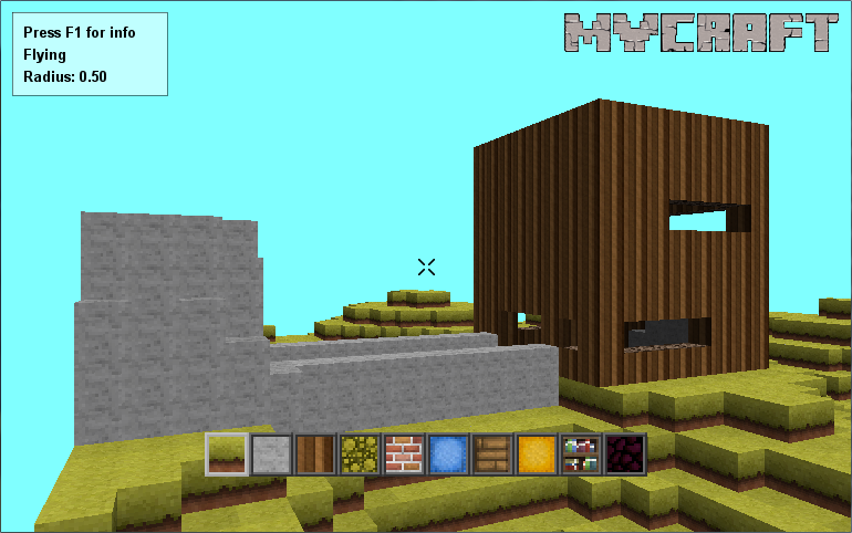 my craft game launch a world in 1 2 3 tutorial mycraft 3d mod db 2526