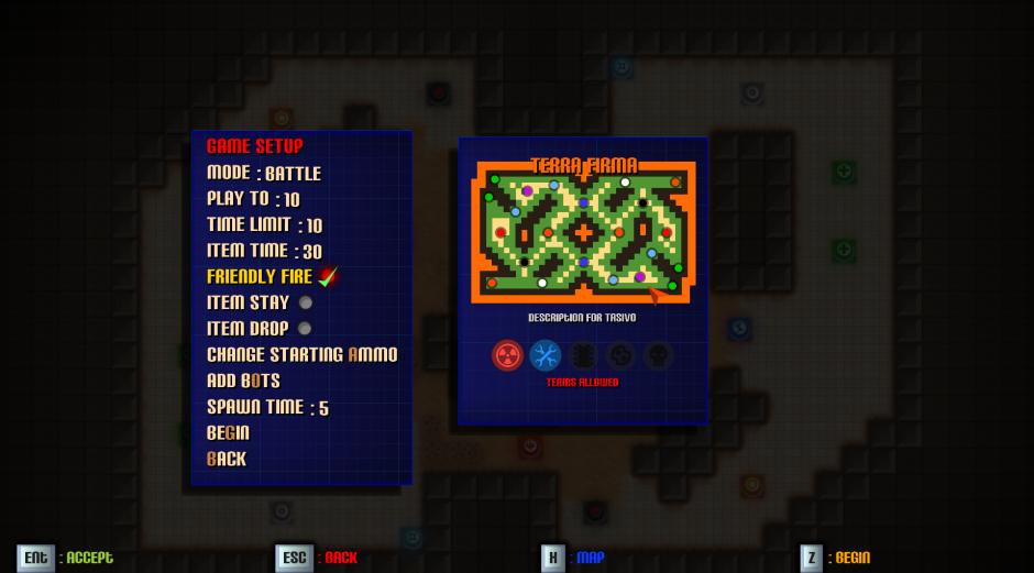 multiplayer game setup