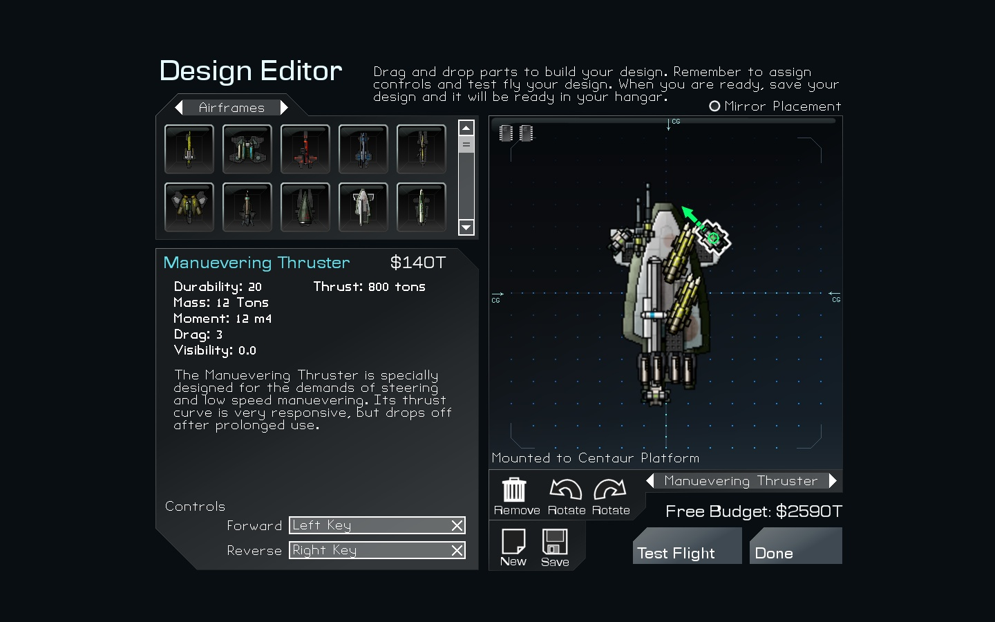 Editor Screenshot