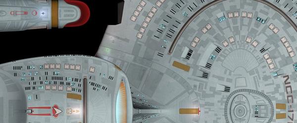 Tobias Richter's CGI Galaxy class, used in TNG:R