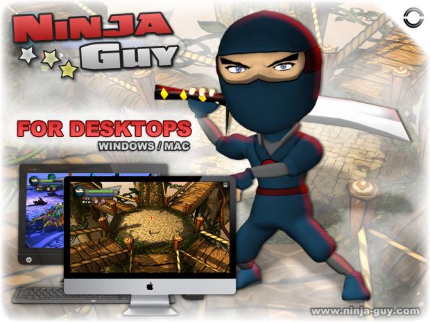 Ninja Guy For PC and MAC