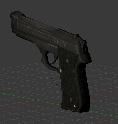 9mm Beretta render