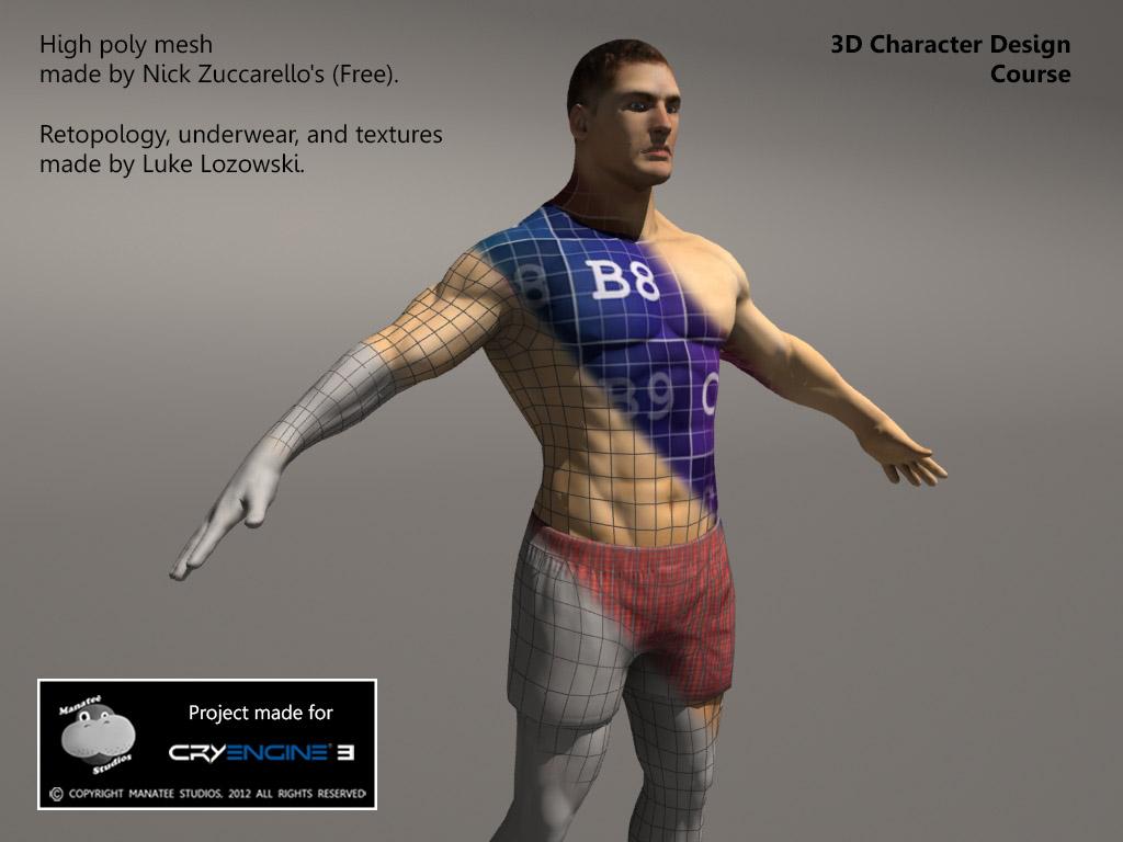 3d Character Design Course : D character design course news nemesis mod db