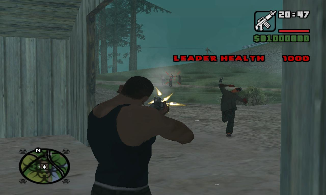 GTA San Andreas Bigfoot Cheat furthermore GTA San Andreas Zombie ...