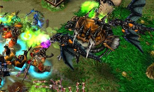 warcraft 3 frozen throne new races download