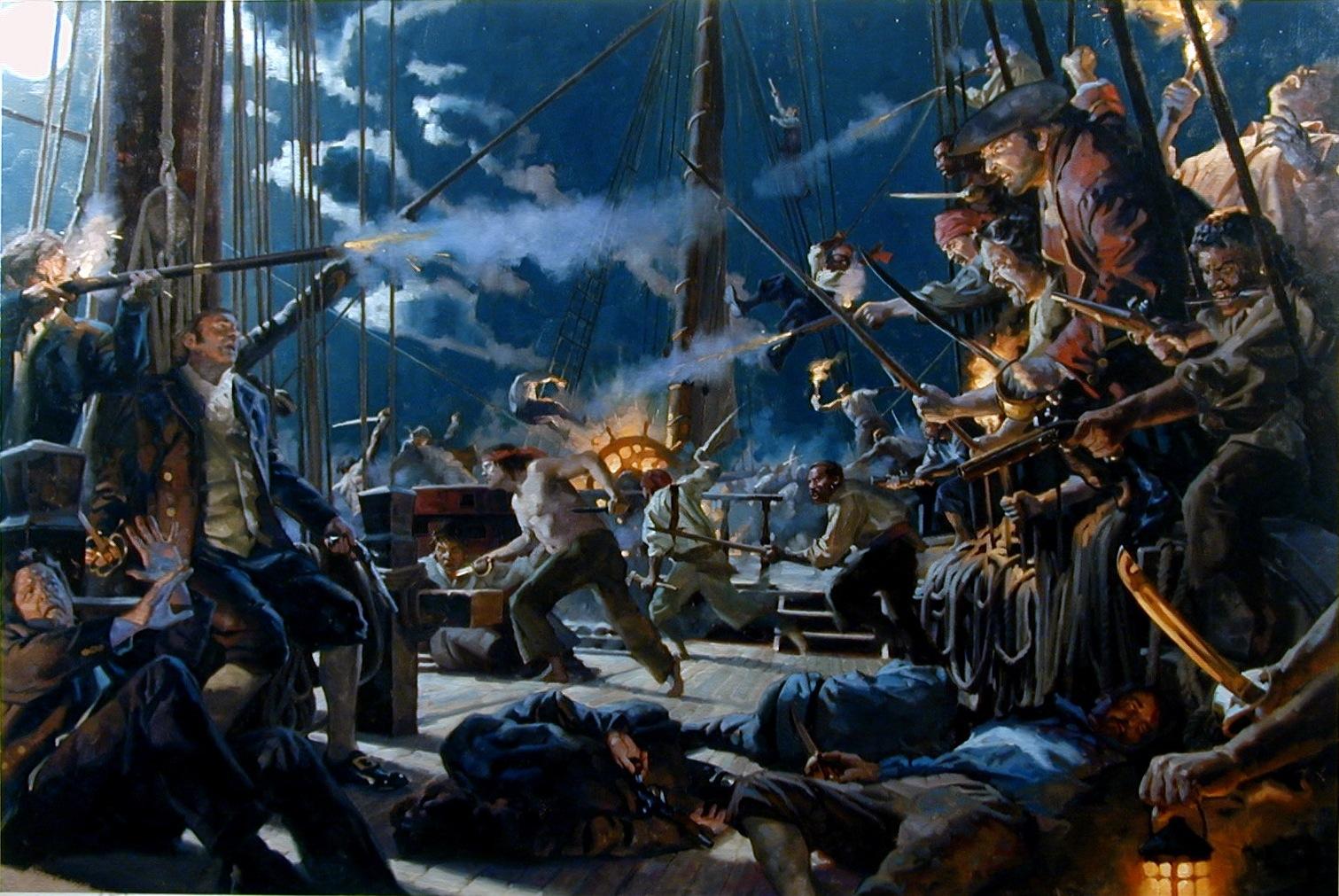 Le Barbillon - L'ascension et la Descente aux Enfers d'un Capitaine. BATTLE