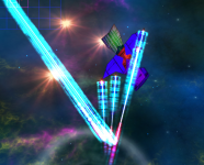 Deflection of Beam Weapons
