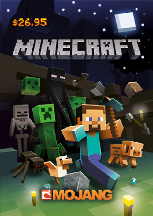 US residents! Now you can buy Minecraft for PC/Mac in real-life stores