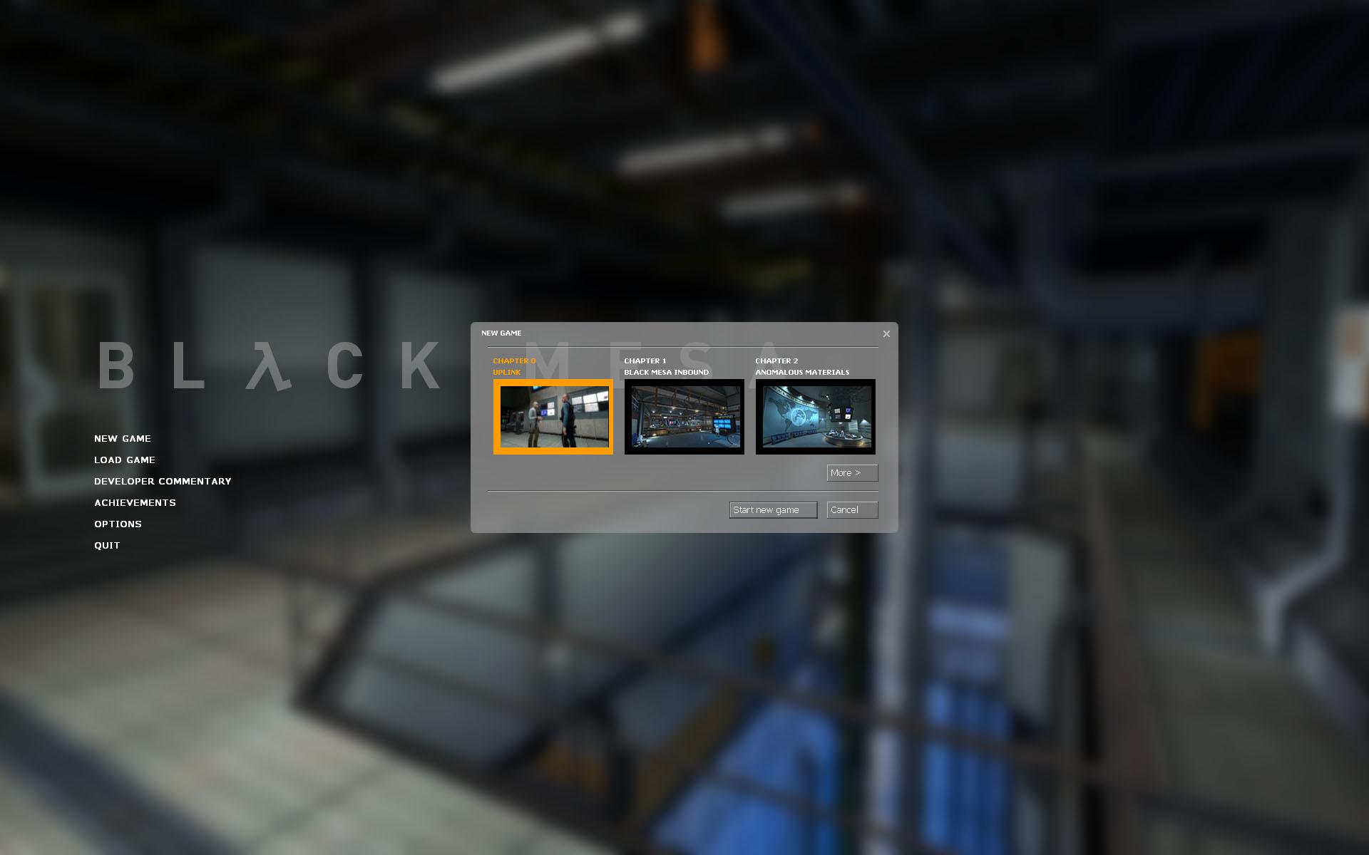 Black Mesa: Uplink Charity Event & Release Date news - Mod DB