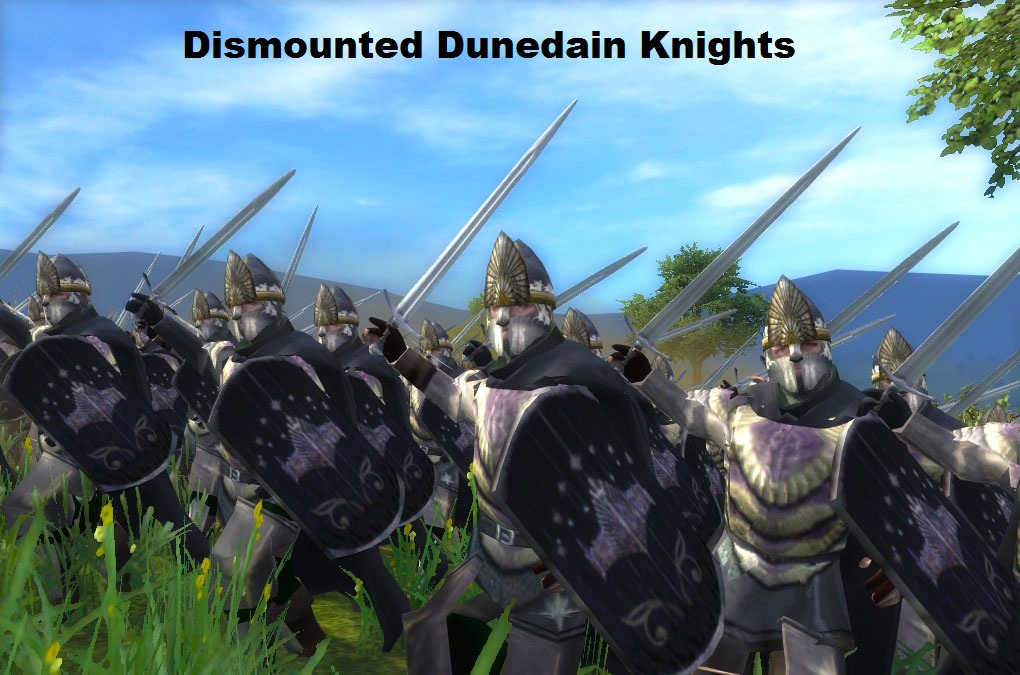 Dunedain of the north preview news ide and conquer mod for