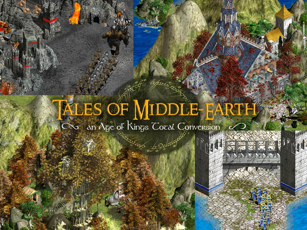 First Release News Tales Of Middle Earth Mod For Age Of