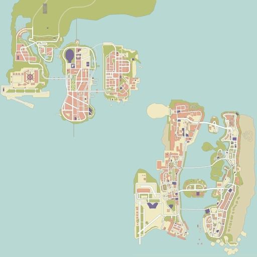 what city is san andreas based on