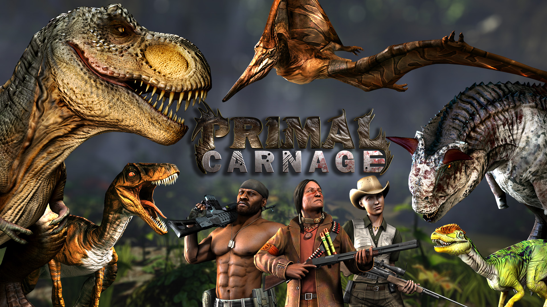 Primal Carnage is 50% off during the Steam Holiday Sale ...