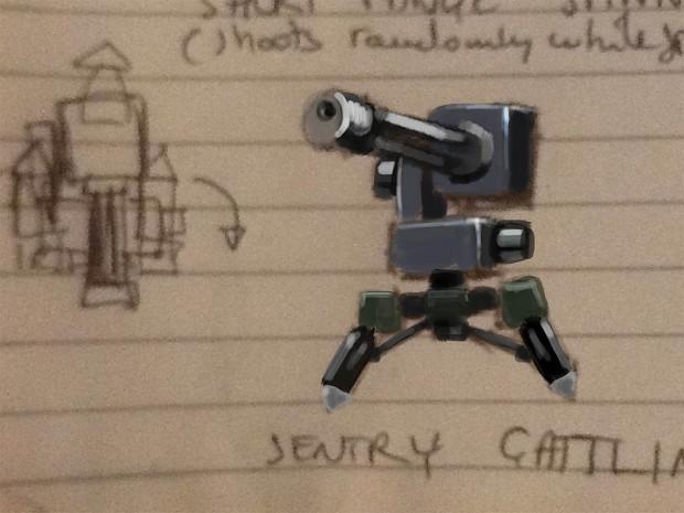Sentry gun concept