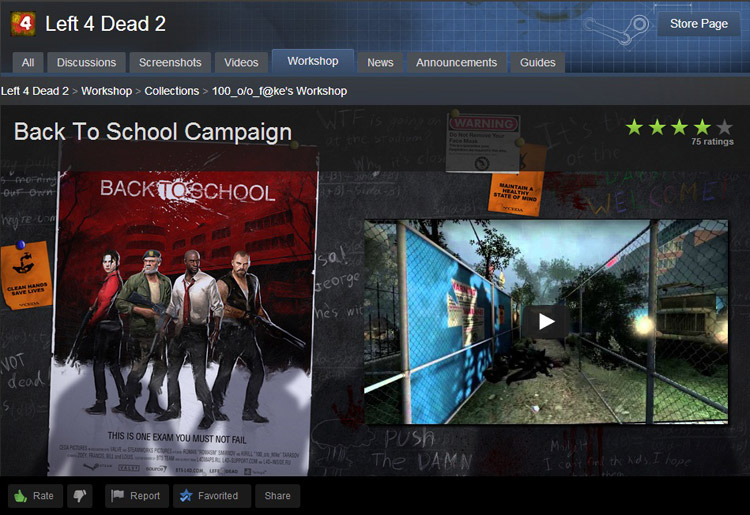 Back To School mod for Left 4 Dead 2 - Mod DB