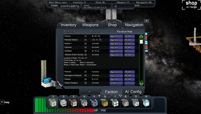 Pawafuru Engine Faction System: Faction System News